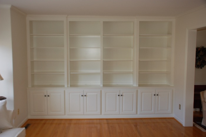Complete Wall Cabinetry
