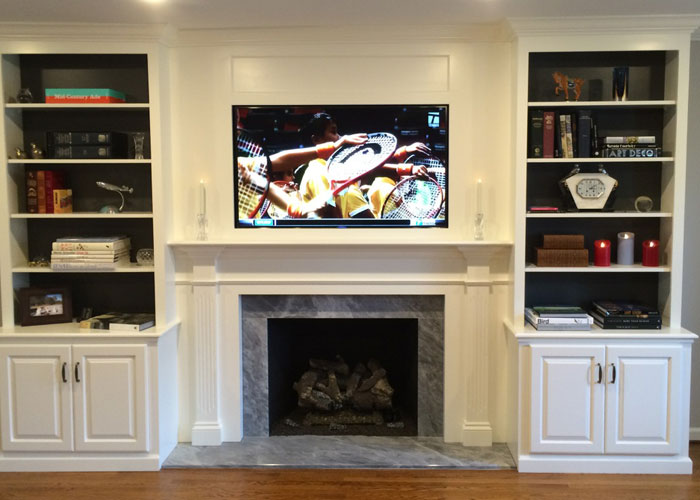 Attractive Fireplace Cabinets