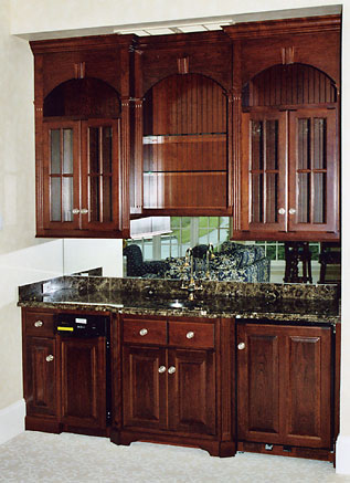 Custom Home Bars - Built In Bar Cabinets - PA