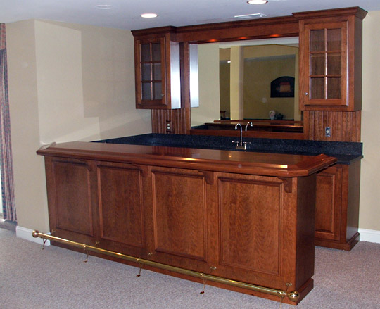 Custom Home Bars Built In Bar Cabinets PA
