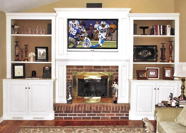 Fireplace Cabinets Built In Wall Units Amp Bookcases