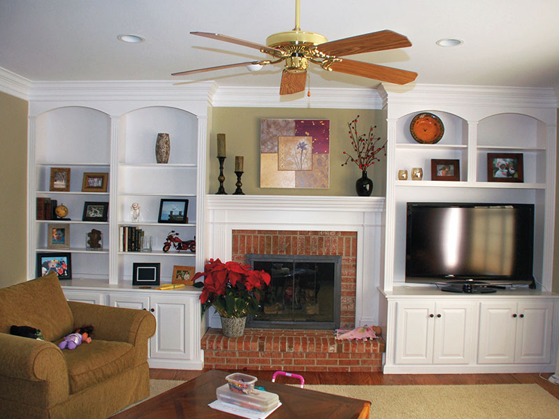 Fireplace Unit & Mantel