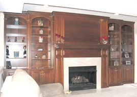 After - Cherry Cabinet