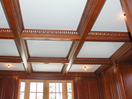 Library Ceiling Beam Detail
