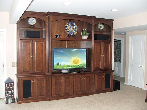 Custom Built In Tv Cabinets Amp Entertainment Centers