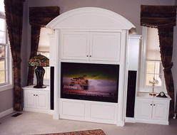 Painted Contemporary TV Cabinet